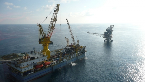 Rig EDrill-1 in the Gulf of Thailand